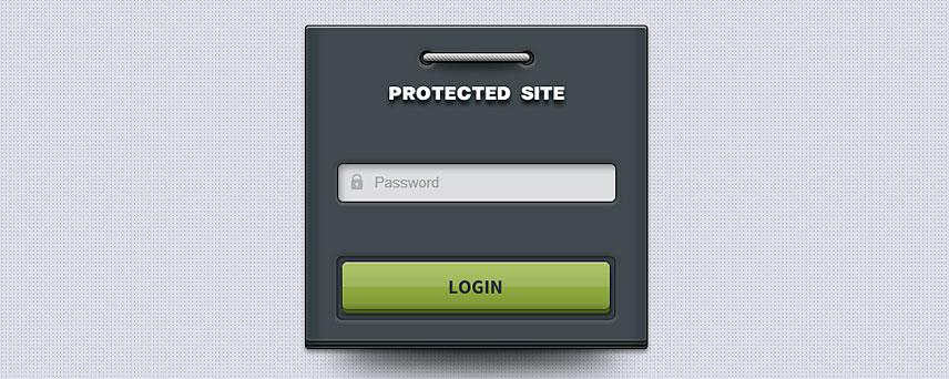 Sito protetto da password