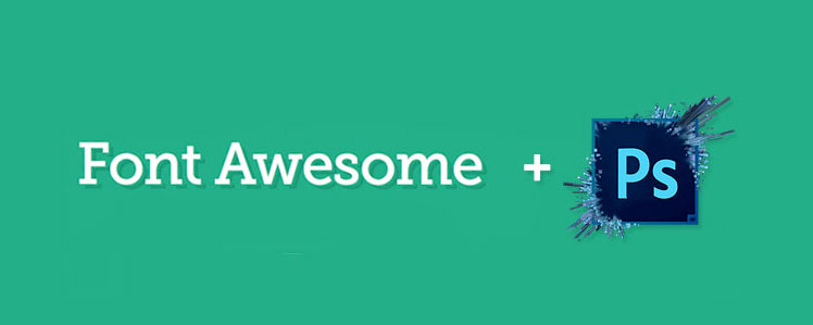 Font Awesome in Photoshop